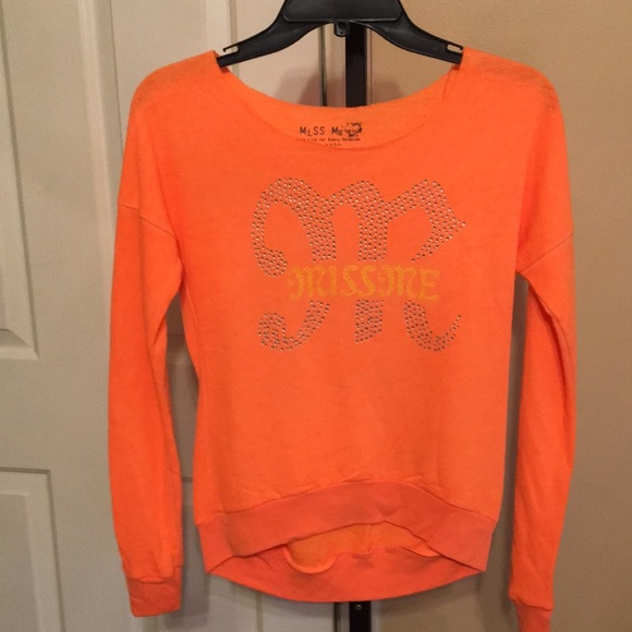 Miss Me Other - *CLEARANCE* Miss Me Girls Studded Logo Shirt